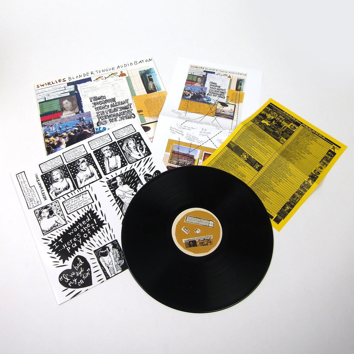 Swirlies: Blonder Tongue Audio Baton Vinyl LP