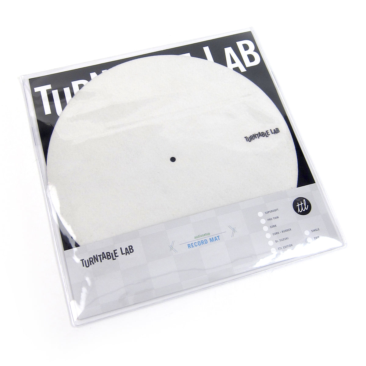 Turntable Lab: Audiosetup Supersoft Record Slipmat Record Mats