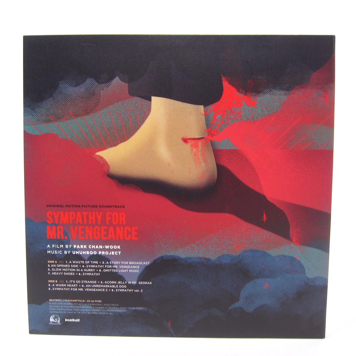 UhUhBoo Project: Sympathy For Mr. Vengeance Soundtrack - Vengeance Trilogy Part. 1 (Colored Vinyl) Vinyl LP (Record Store Day)