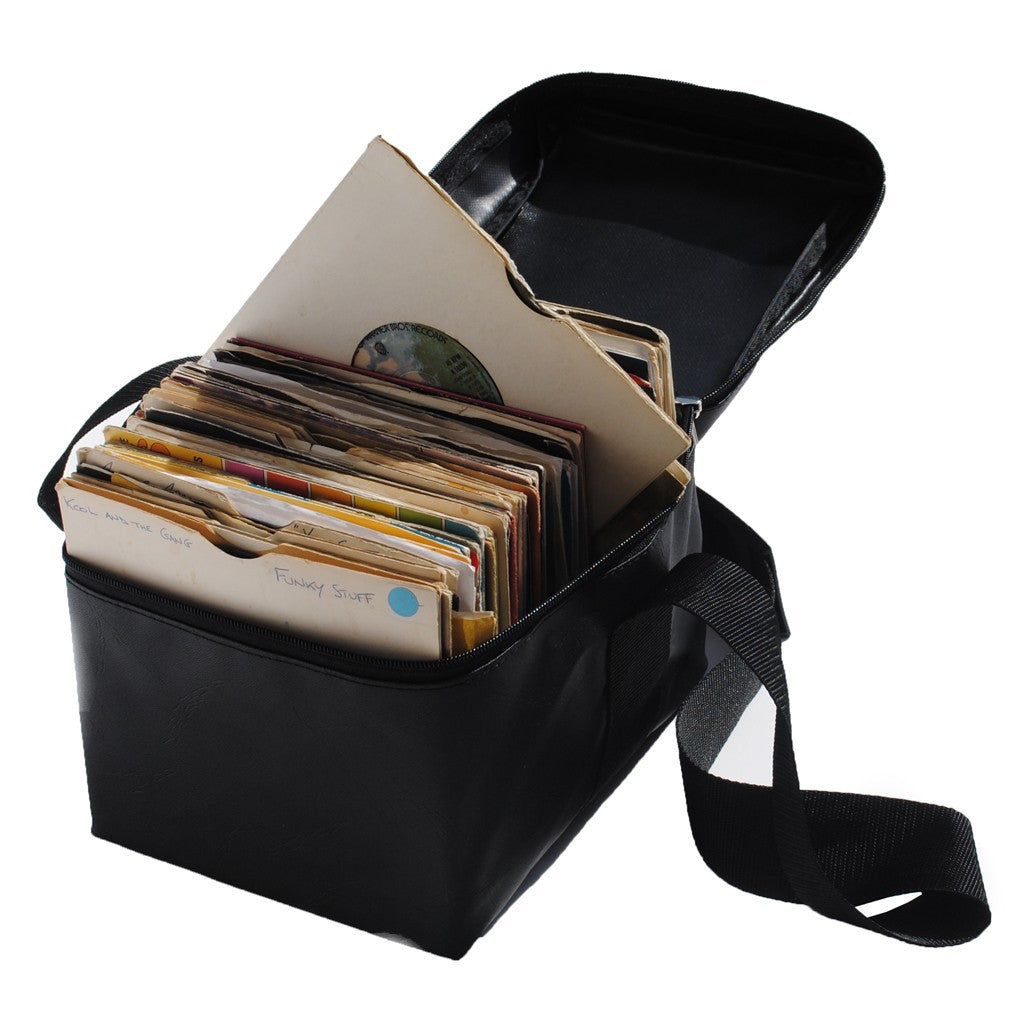 "Technics: Mini Box Bag 7"" Record Bag - Black detail 2"
