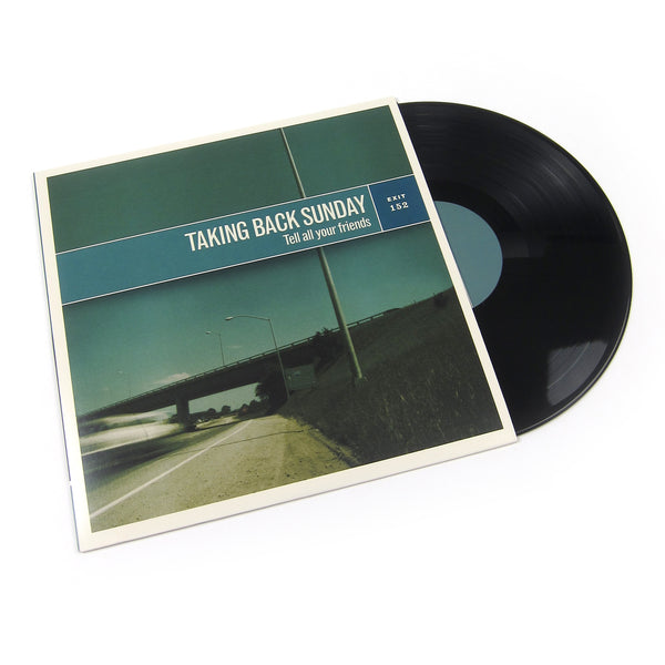 Taking Back Sunday: Tell All Your Friends Vinyl LP