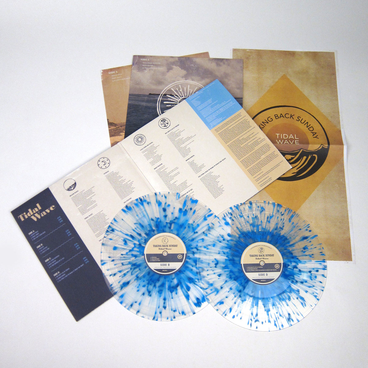 Taking Back Sunday: Tidal Wave (Colored Vinyl) Vinyl 2LP