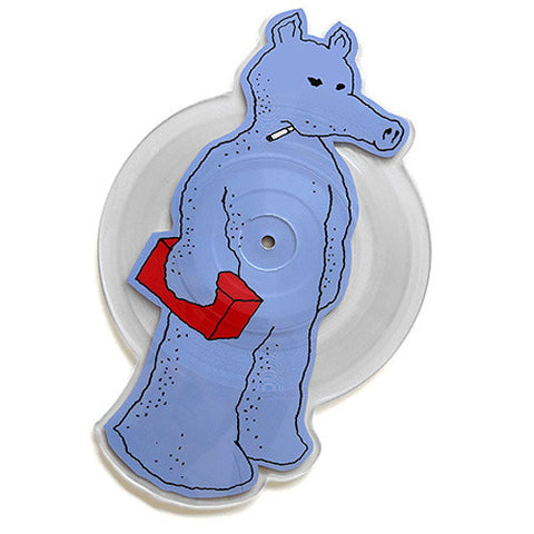 Quasimoto: Talkin Shit / Planned Attack - X-Ray Die Cut Picture Disc (Blue Variant) Vinyl 7""