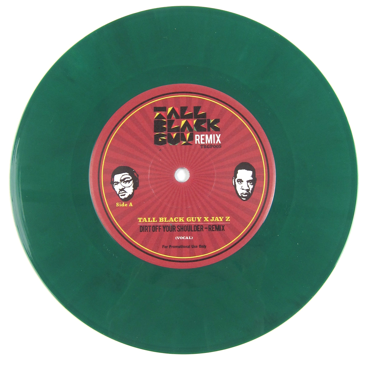 Tall Black Guy x Jay Z: Dirt Off Your Shoulder Remix Vinyl 7""