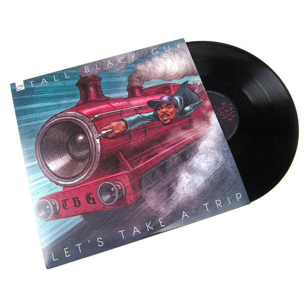 Tall Black Guy: Let's Take A Trip Vinyl 2LP