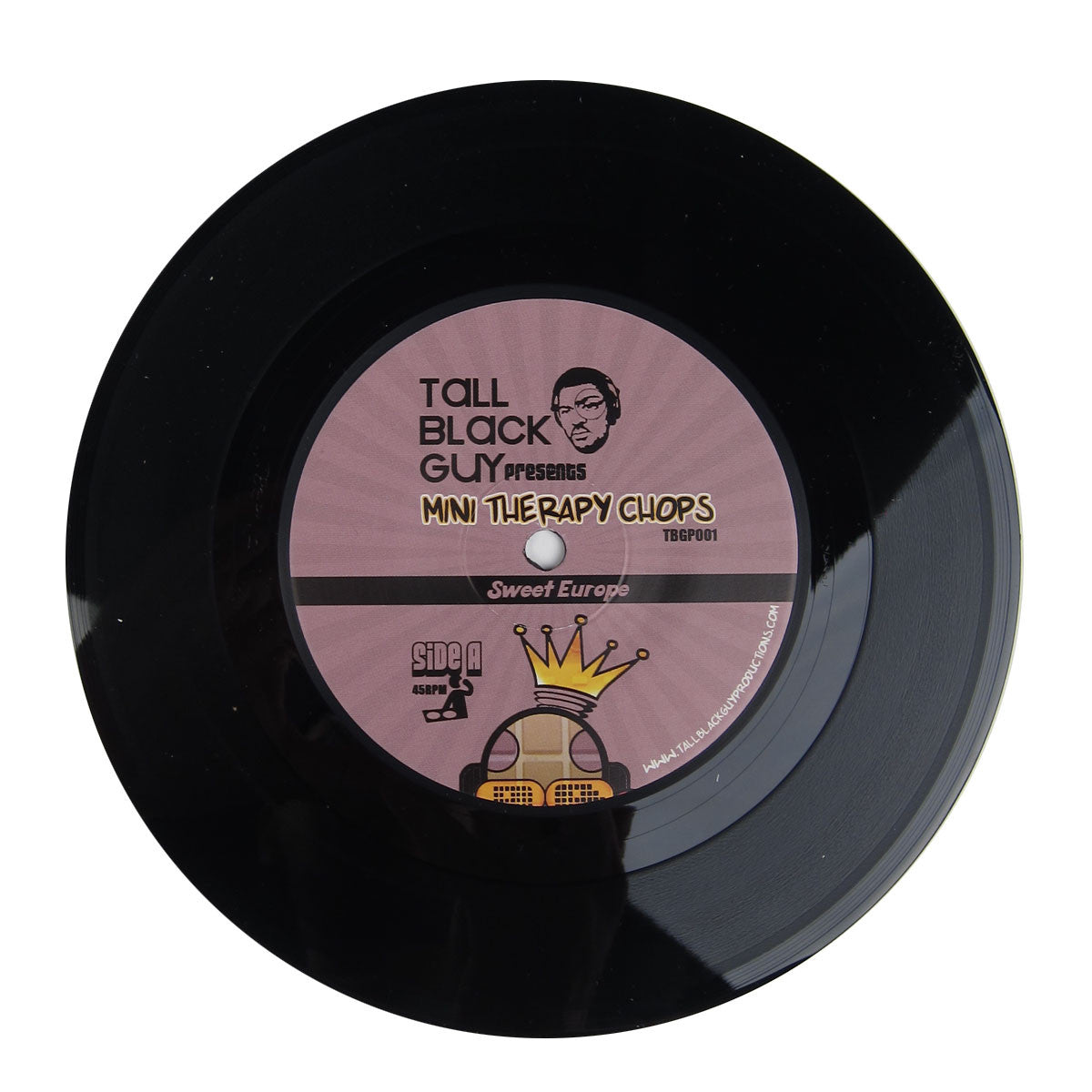 Tall Black Guy : Mini Therapy Chops Vinyl 7""
