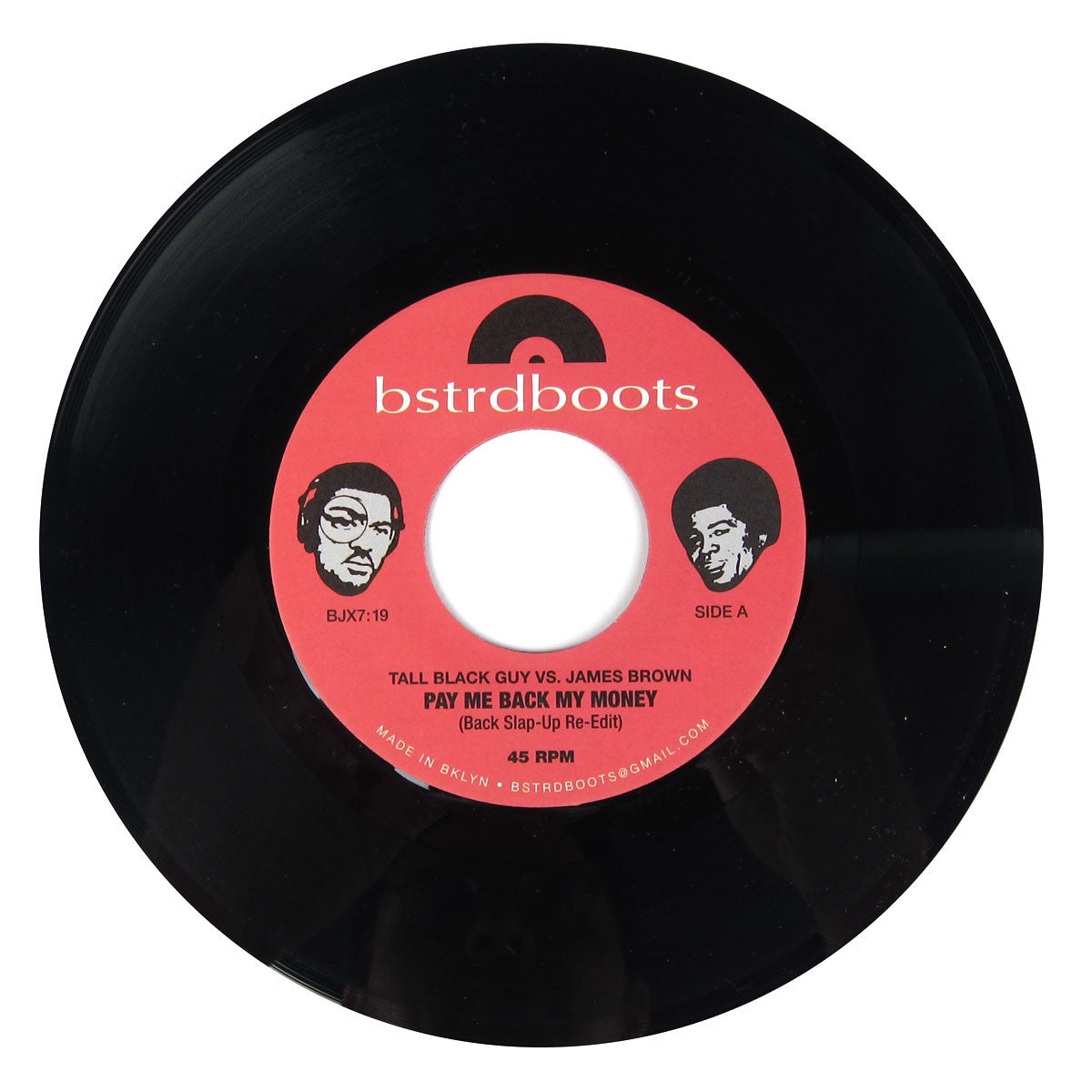 Tall Black Guy: Tall Black Guy vs. James Brown Vinyl 7""