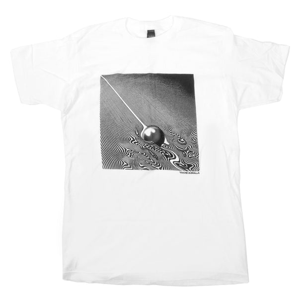 Tame Impala: Monochrome Currents Shirt - White