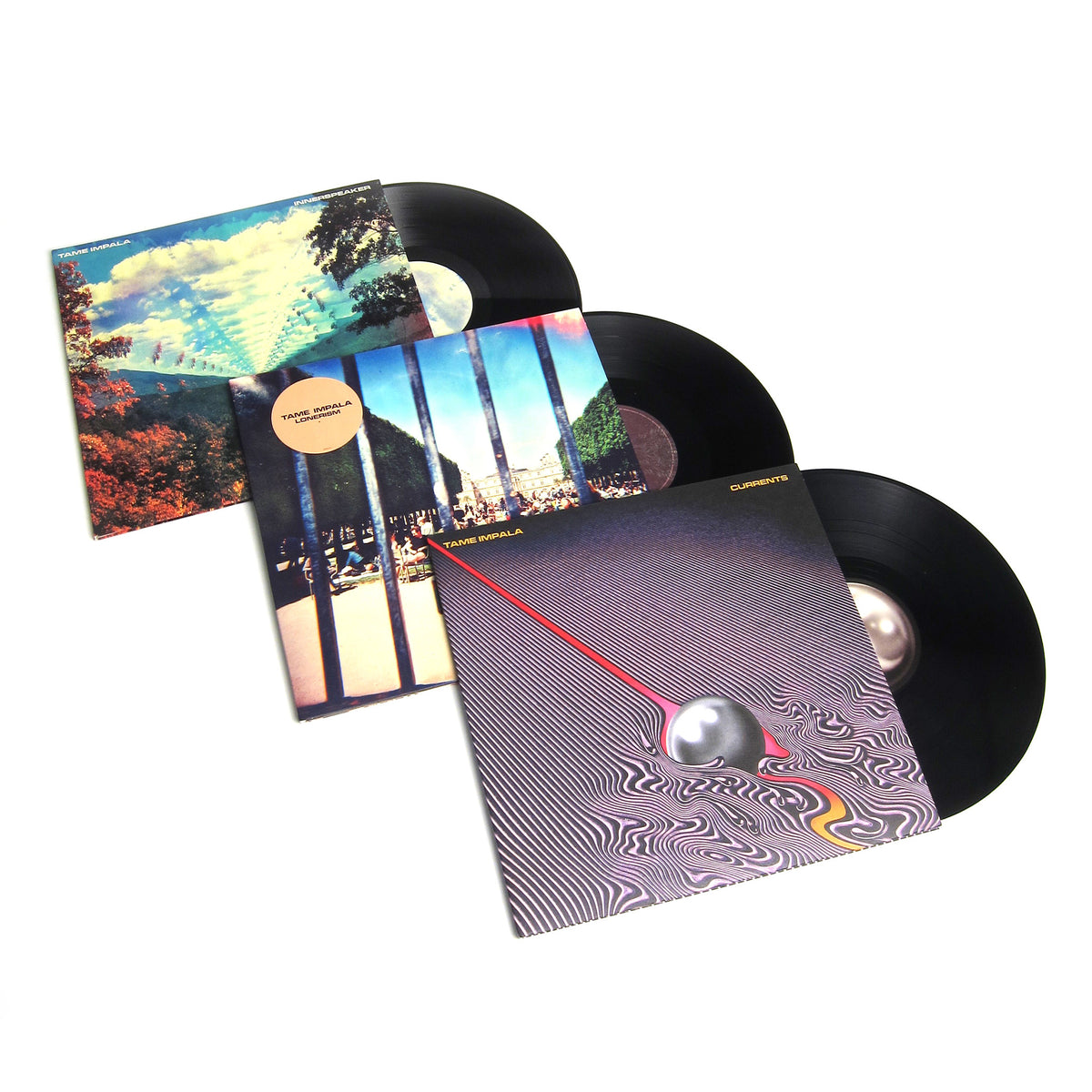 Tame Impala: Vinyl LP Album Pack (Innerspeaker, Lonerism, Currents)