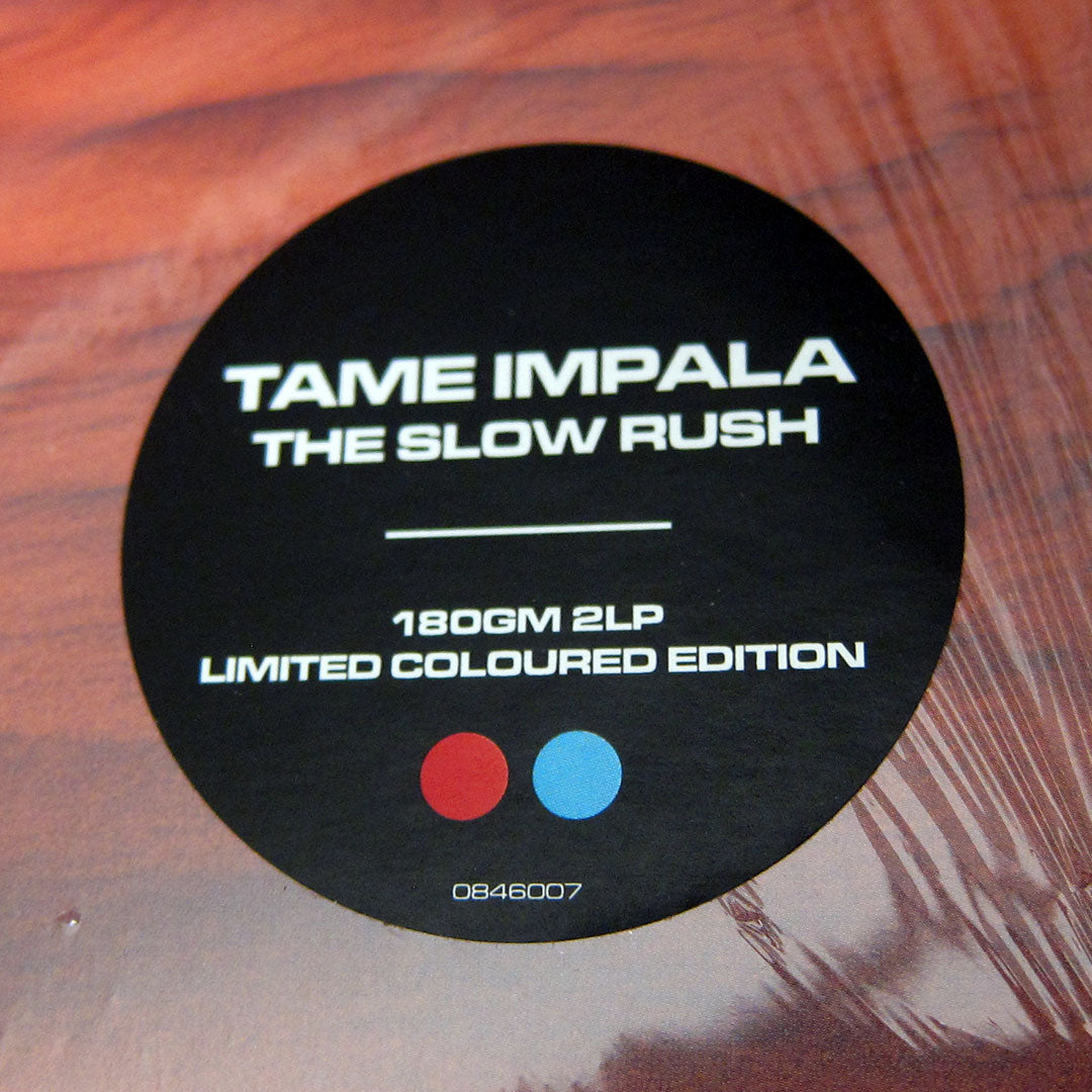 Tame Impala: The Slow Rush (Indie Exclusive Red / Light Blue Colored Vinyl) Vinyl 2LP