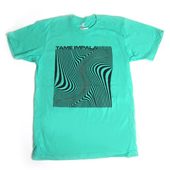 Tame Impala: Wave Square Shirt - Mint