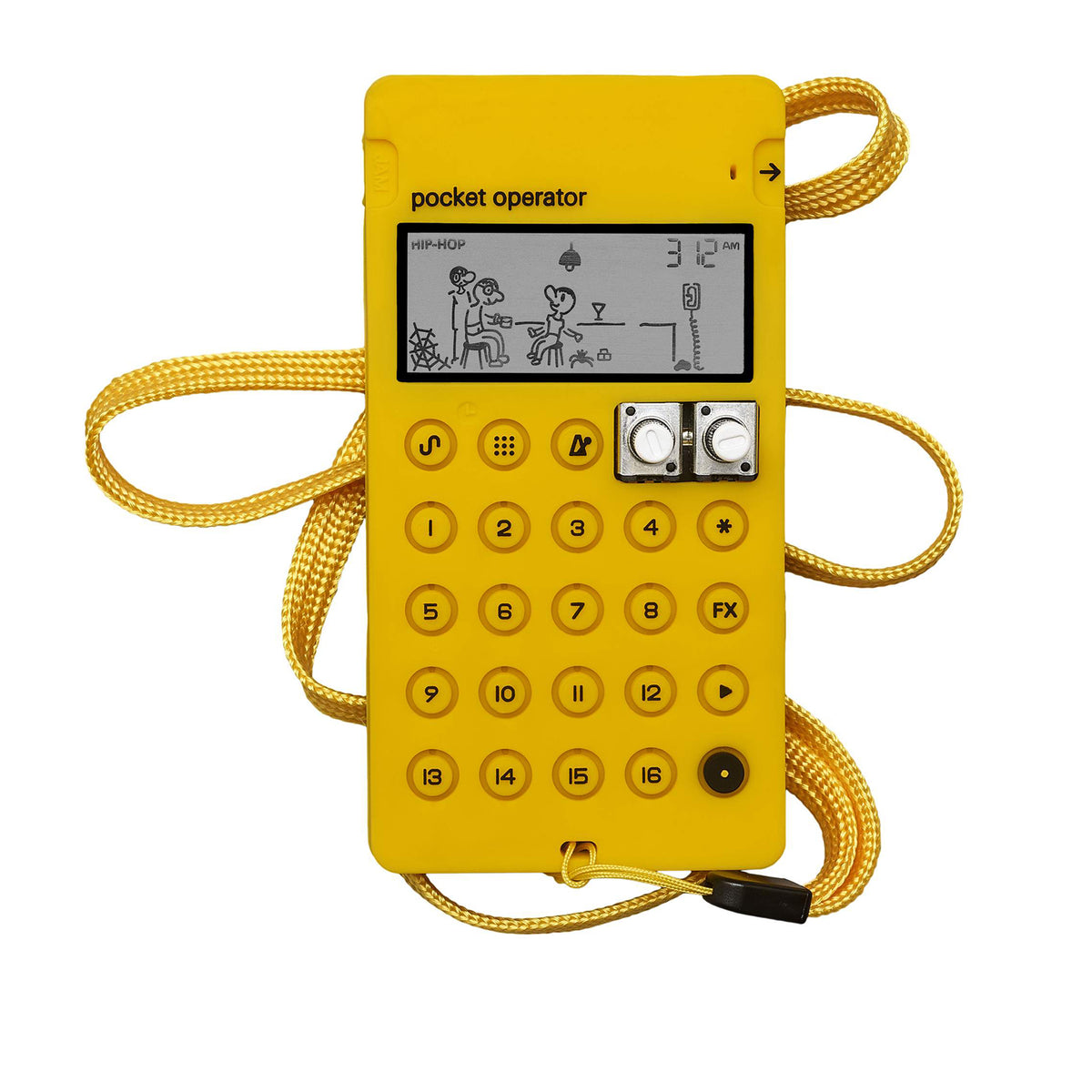 Teenage Engineering: CA-X Silicone Case For Pocket Operators - Yellow