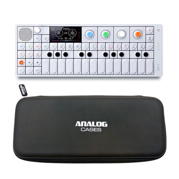 Teenage Engineering: OP-1 + Analog Cases Glide Case Bundle