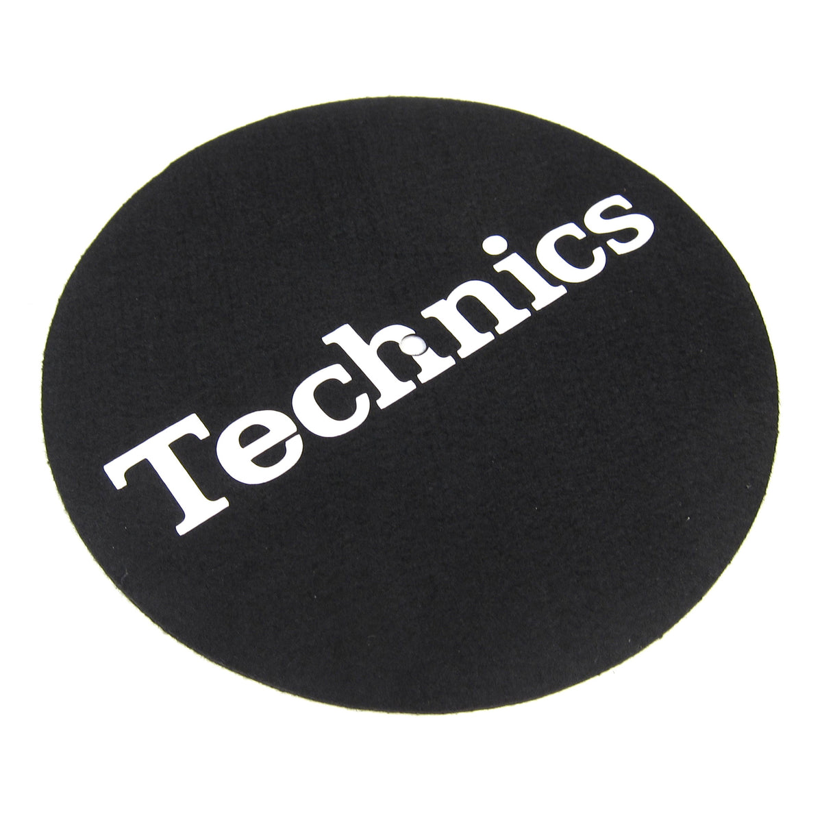 "Technics: 7"" Slipmats (Pair) - Black"