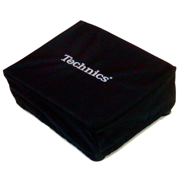 Technics: Embroidered Deck Turntable Cover - Black / Silver