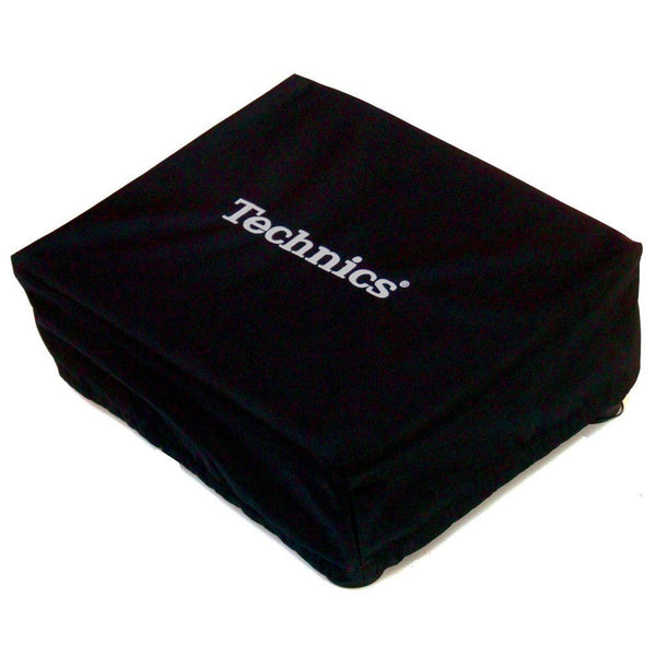 Technics: Embroidered Deck Turntable Cover - Black / Glow In The Dark