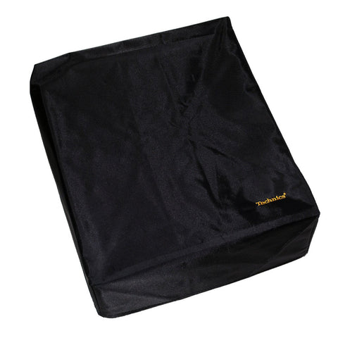 Technics: Mixer Cover - Black / Gold Embroidered