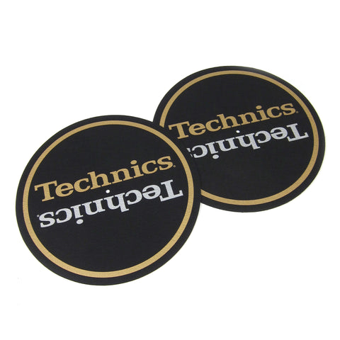 Technics: Technics Shadow Slipmat (Pair) - Gold