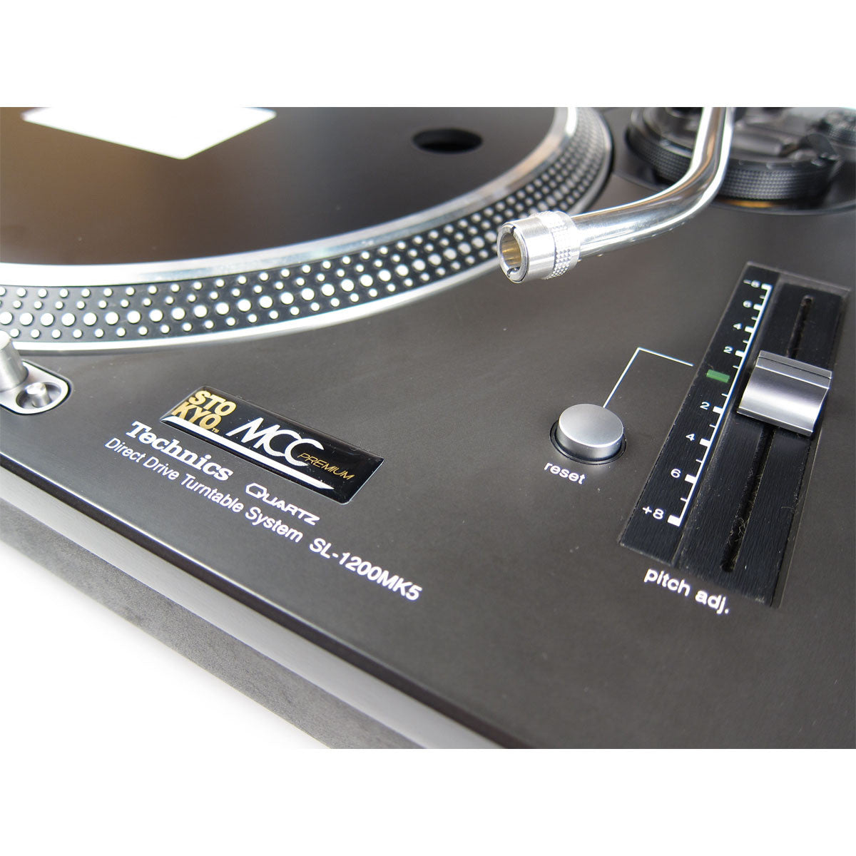 Technics: SL-1210MK5 Turntable - Stokyo MCC Refurbished detail