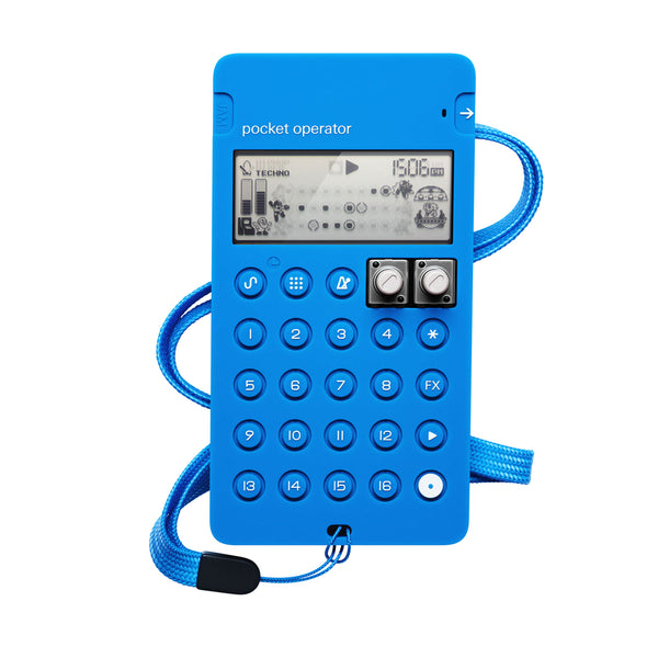 Teenage Engineering: CA-X Silicone Case For Pocket Operators - Blue