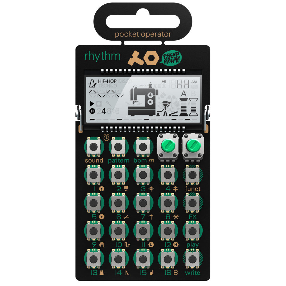 Teenage Engineering: PO-12 Rhythm Pocket Operator