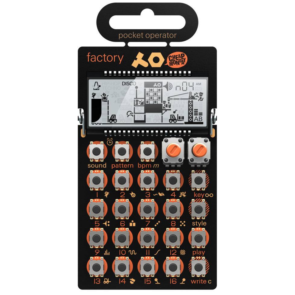 Teenage Engineering: PO-16 Factory Pocket Operator