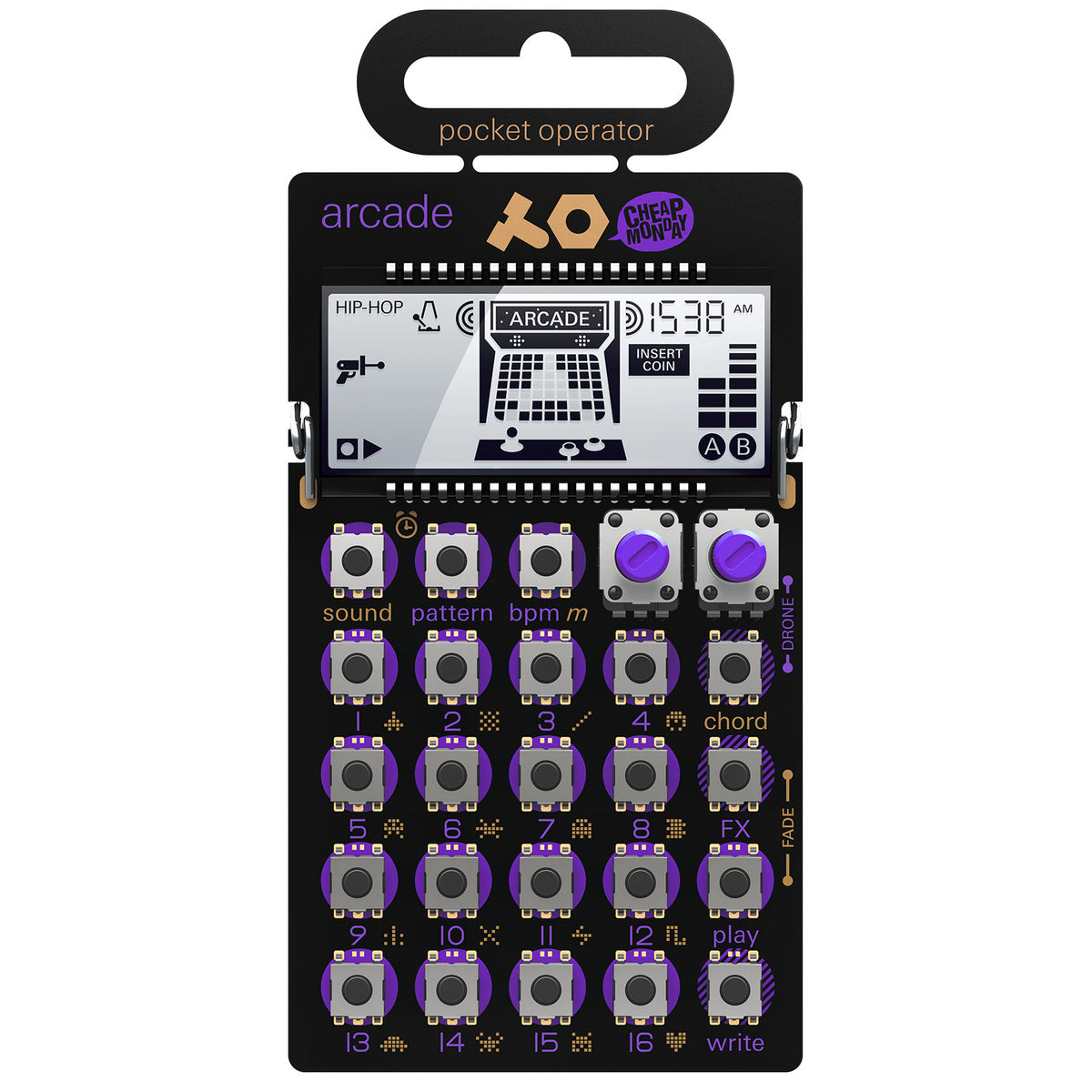 Teenage Engineering: PO-20 Arcade Pocket Operator