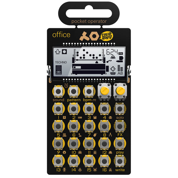 Teenage Engineering: PO-24 Office Pocket Operator