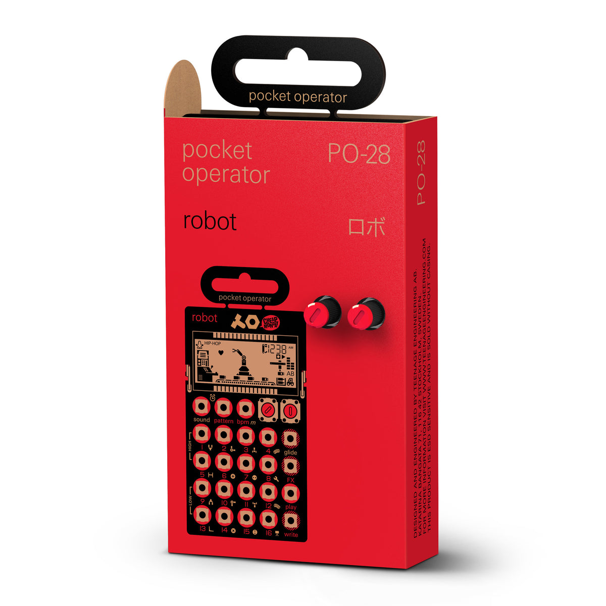 Teenage Engineering: PO-28 Robot Pocket Operator