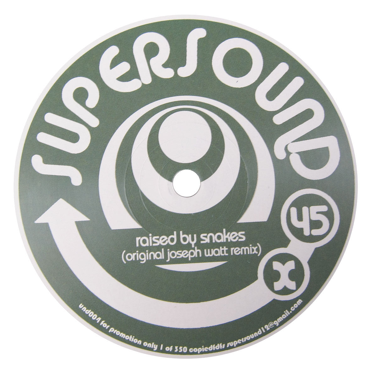 Telex & Supermax: Raised By Snakes Vinyl 12""