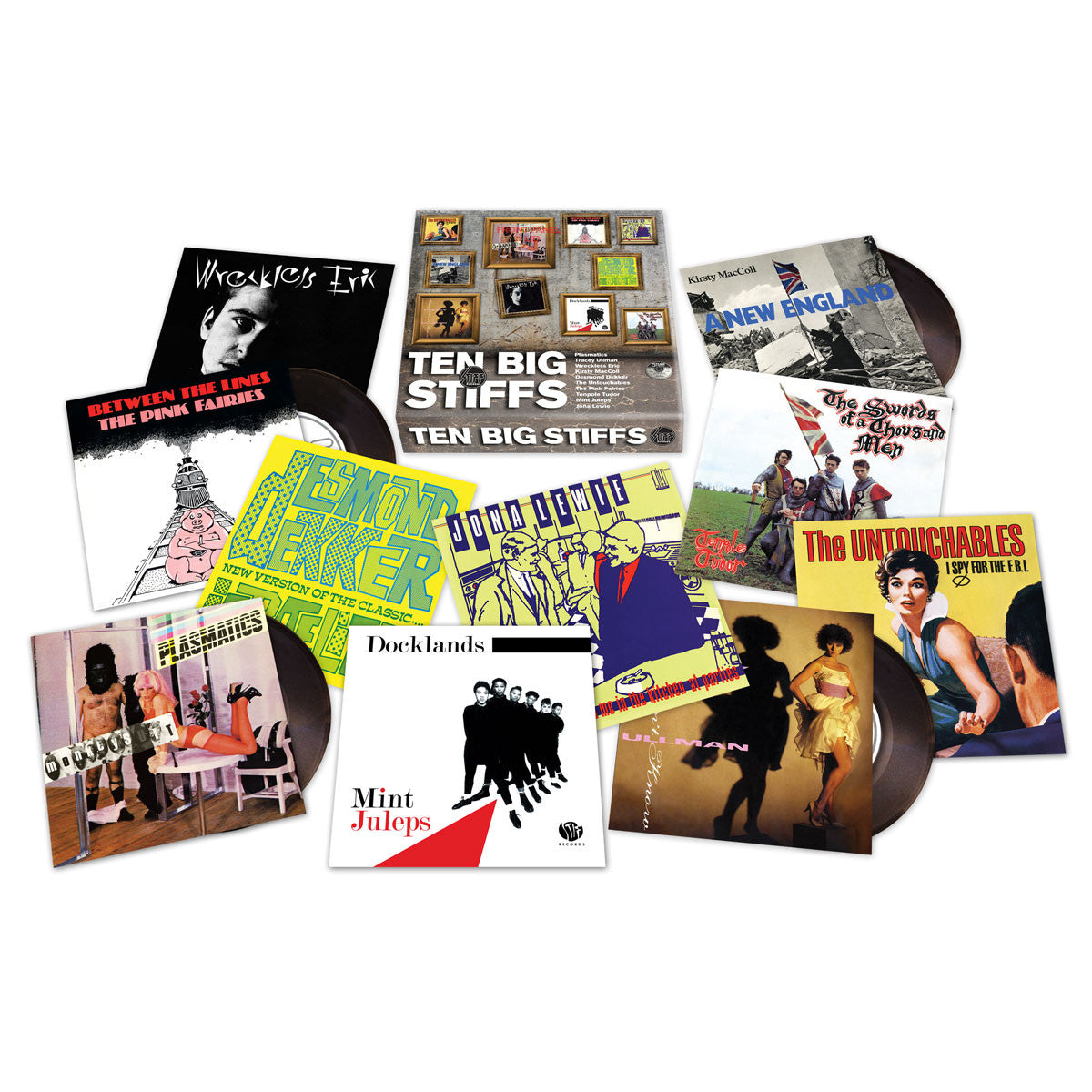 "Stiff Records: Ten Big Stiffs 7"" Boxset (Record Store Day)"