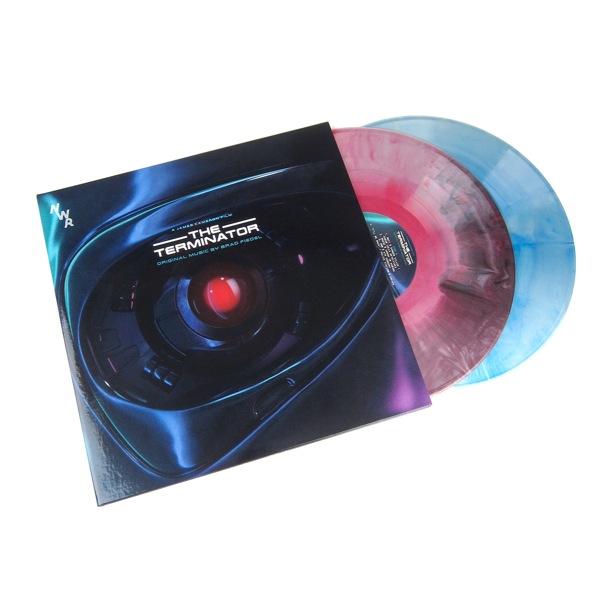 Brad Fiedel: The Terminator Soundtrack (Colored Vinyl) Vinyl 2LP