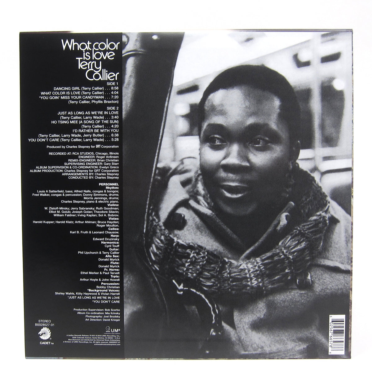 Terry Callier: What Color Is Love Vinyl LP