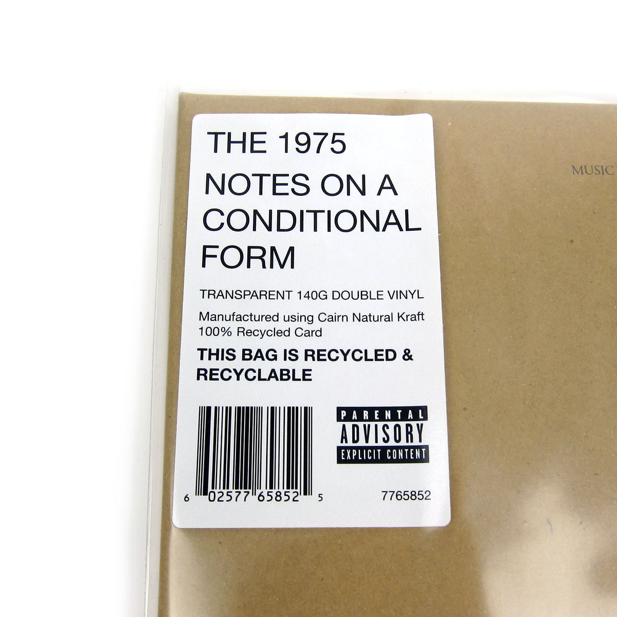 The 1975: Notes On A Conditional Form (Colored Vinyl) Vinyl 2LP