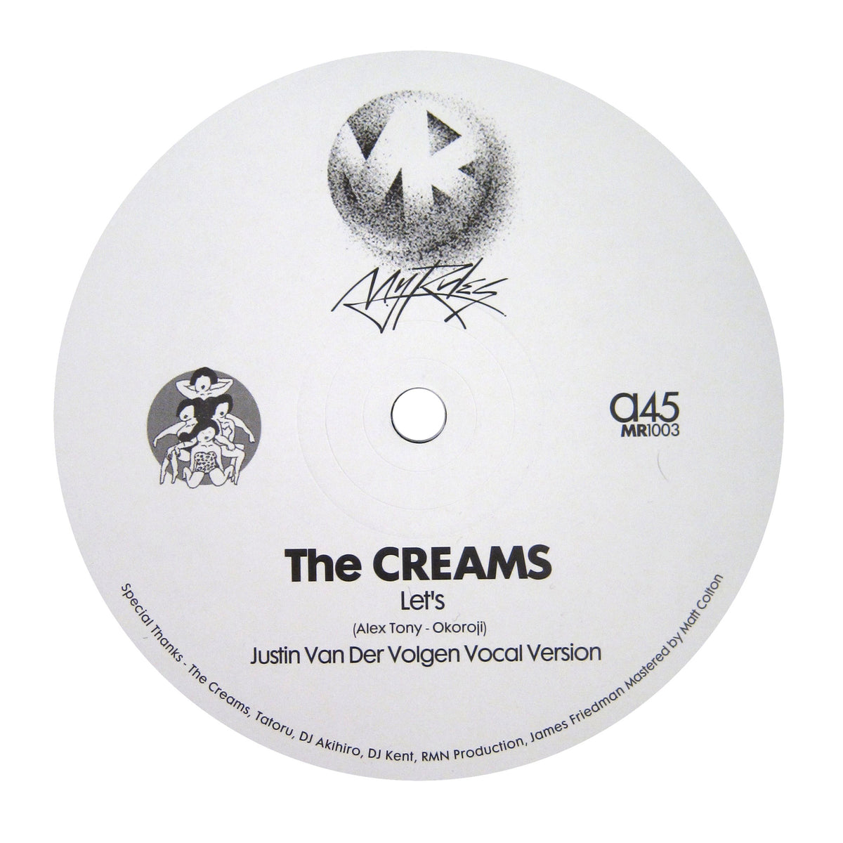 The Creams: Let's (Justin Van Der Volgen Versions) Vinyl 12""