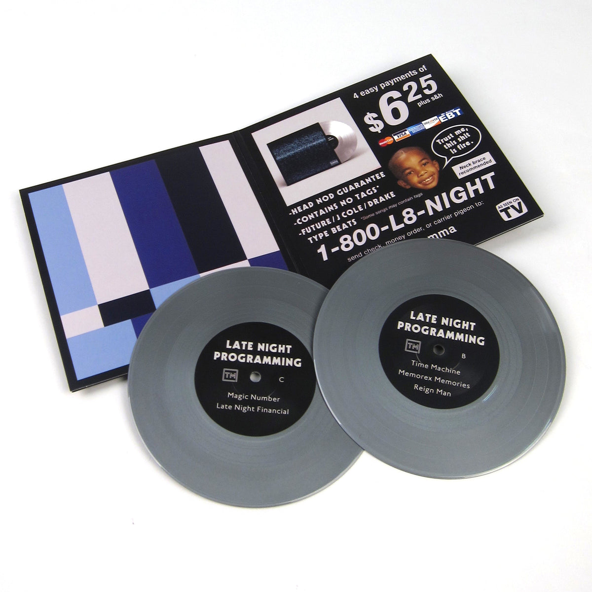 Thelonious Martin: Late Night Programming (Colored Vinyl) Vinyl 2x7""
