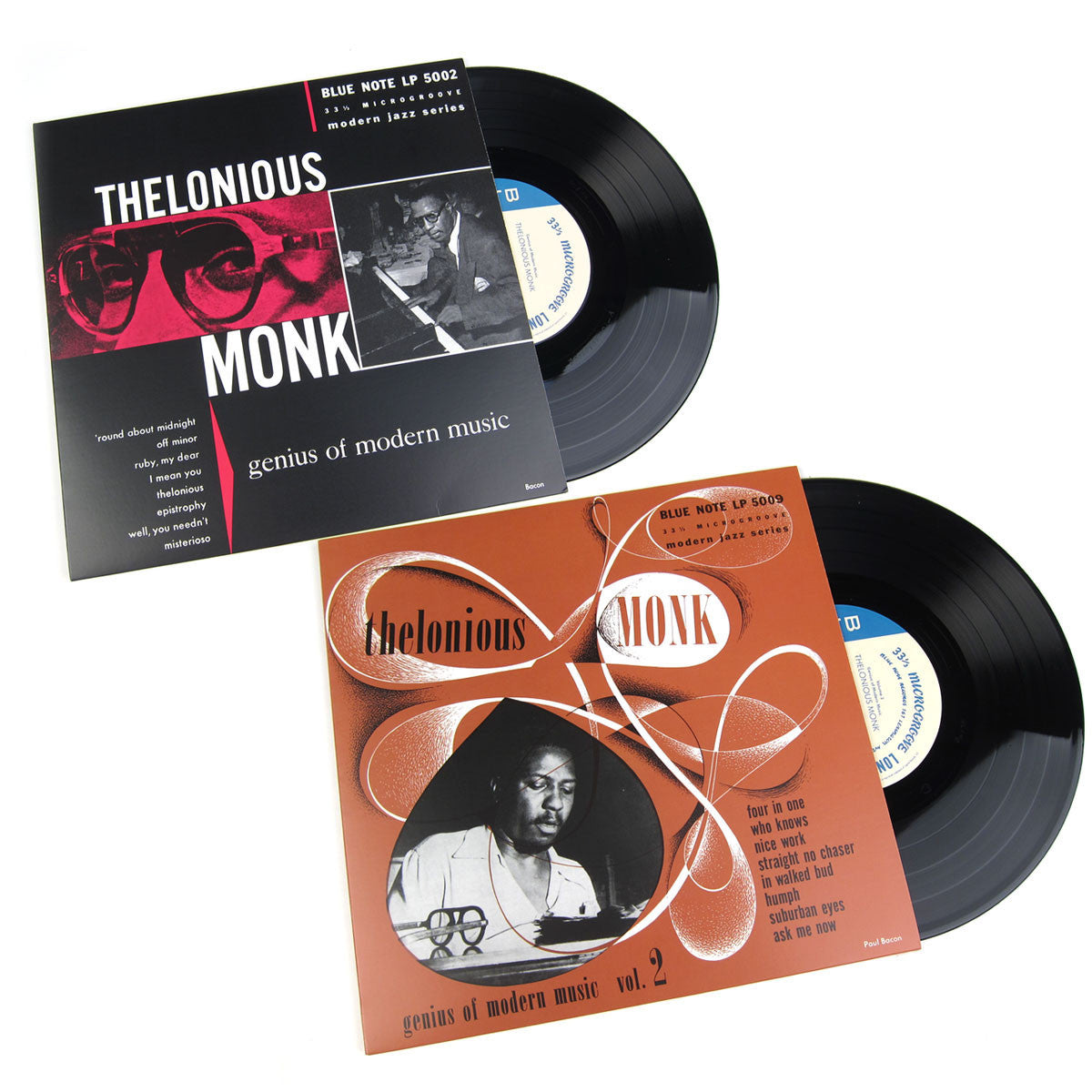 Thelonious Monk: Genius Of Modern Music (Mono) Vol.1+2 Vinyl 10""