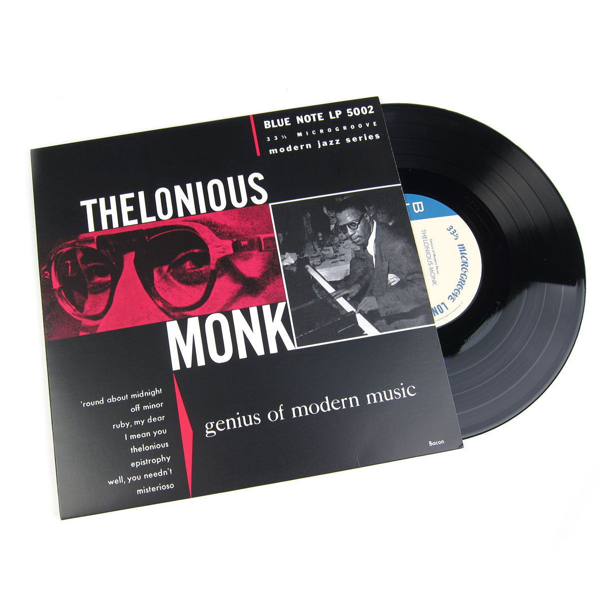 Thelonious Monk: Genius Of Modern Music Vol.1 (Mono) Vinyl 10""