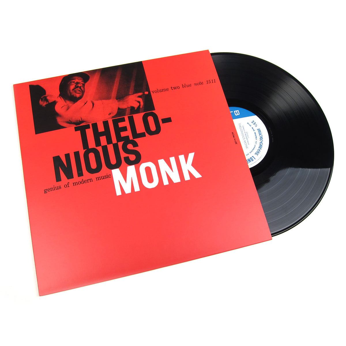 Thelonious Monk: Genius Of Modern Music Volume Two Vinyl LP