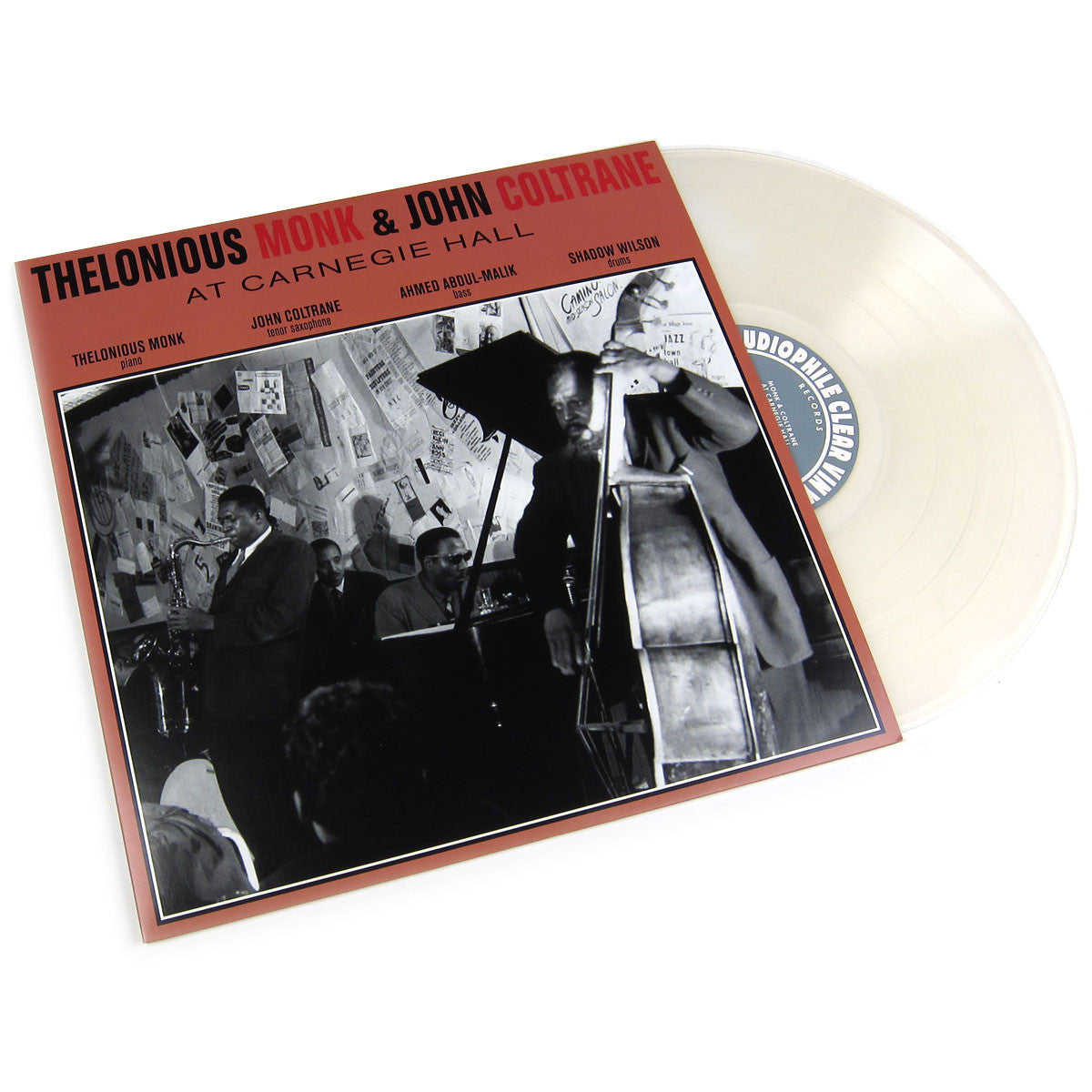 Thelonious Monk & John Coltrane: At Carnegie Hall (Audiophile Clear Vinyl) ACV Vinyl LP