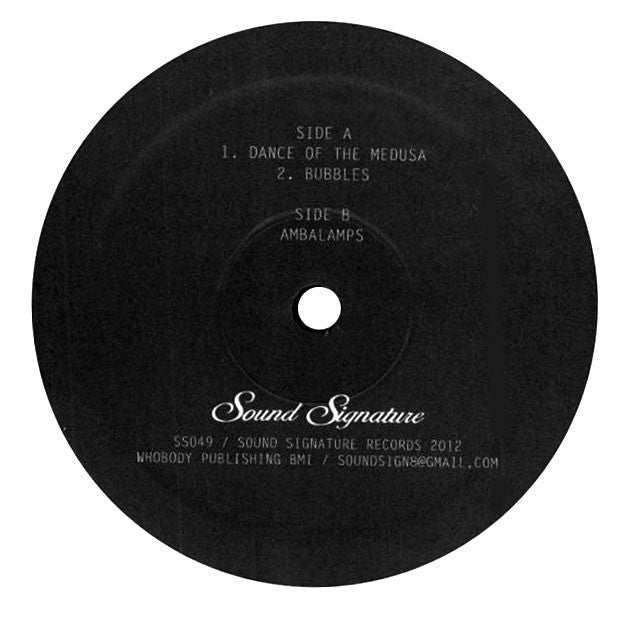 Theo Parrish: The Dance of the Medusa 12""