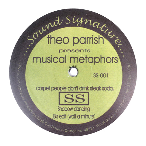Theo Parrish: Musical Metaphors Vinyl 12""