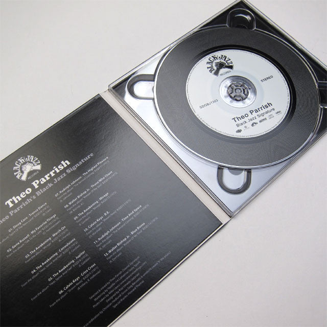 Theo Parrish: Black Jazz Signature CD detail