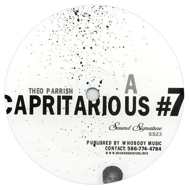 Theo Parrish: Capritarious #7 / Levels Vinyl 2LP