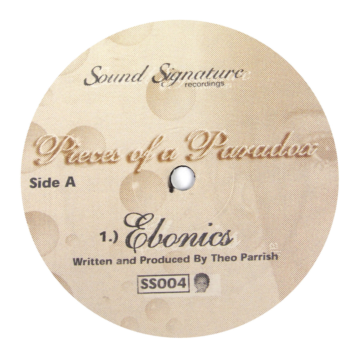 Theo Parrish: Pieces Of A Paradox Vinyl 12""