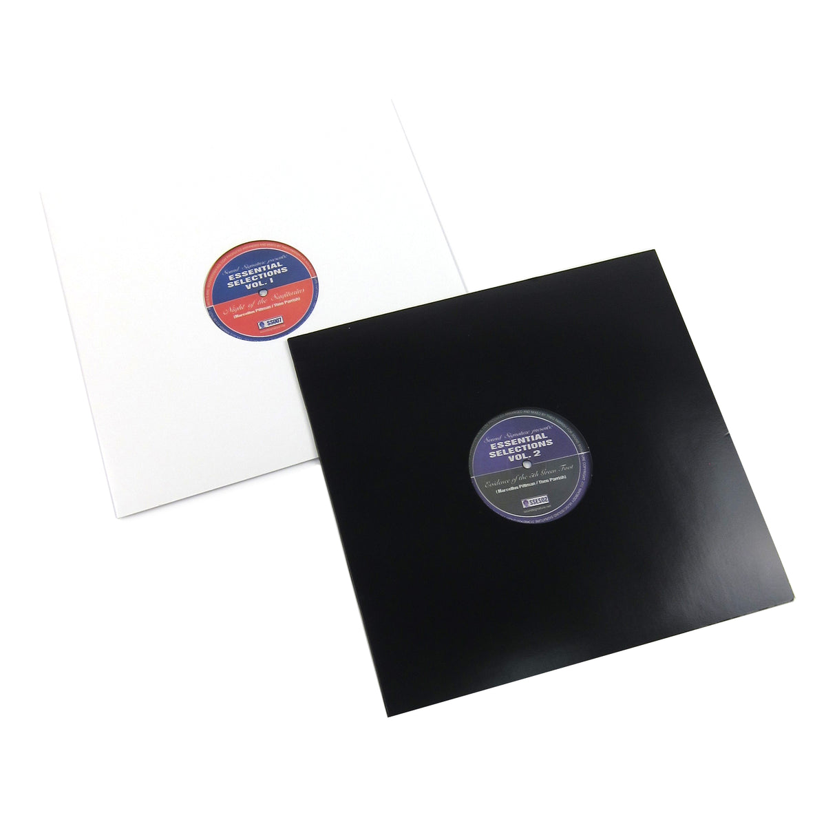 "Theo Parrish & Marcellus Pittman: Essential Selections Vol.1+2 Vinyl 12"" Pack"