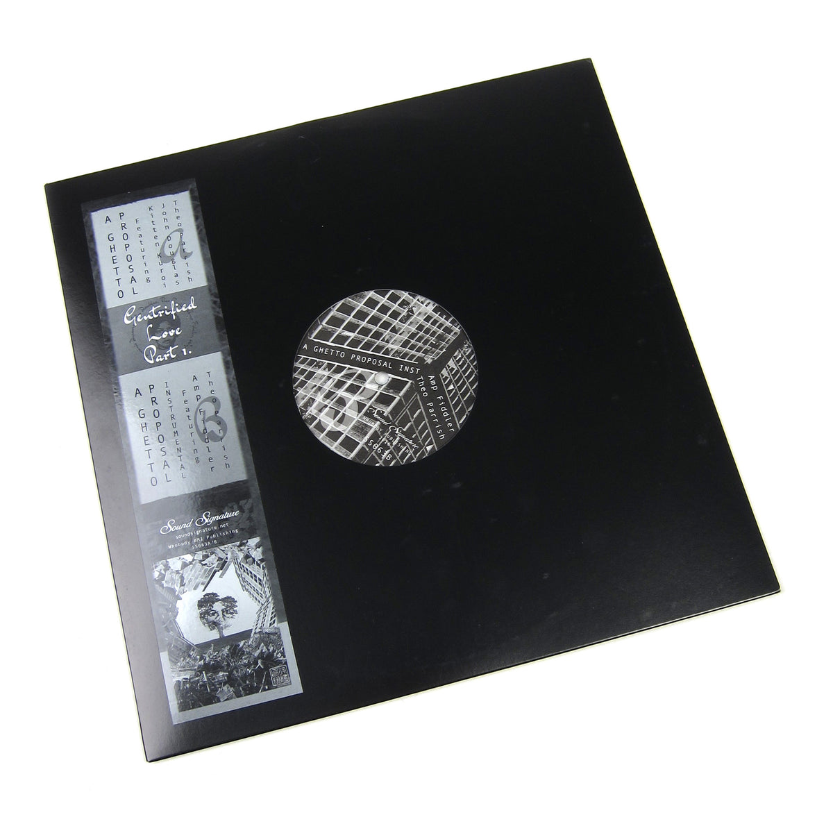 Theo Parrish: Gentrified Love Part 1 Vinyl 12""