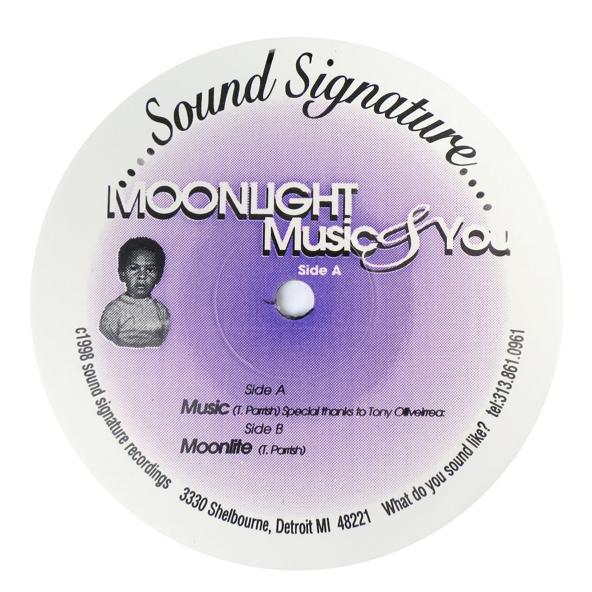 Theo Parrish: Moonlight Music & You Vinyl 12""