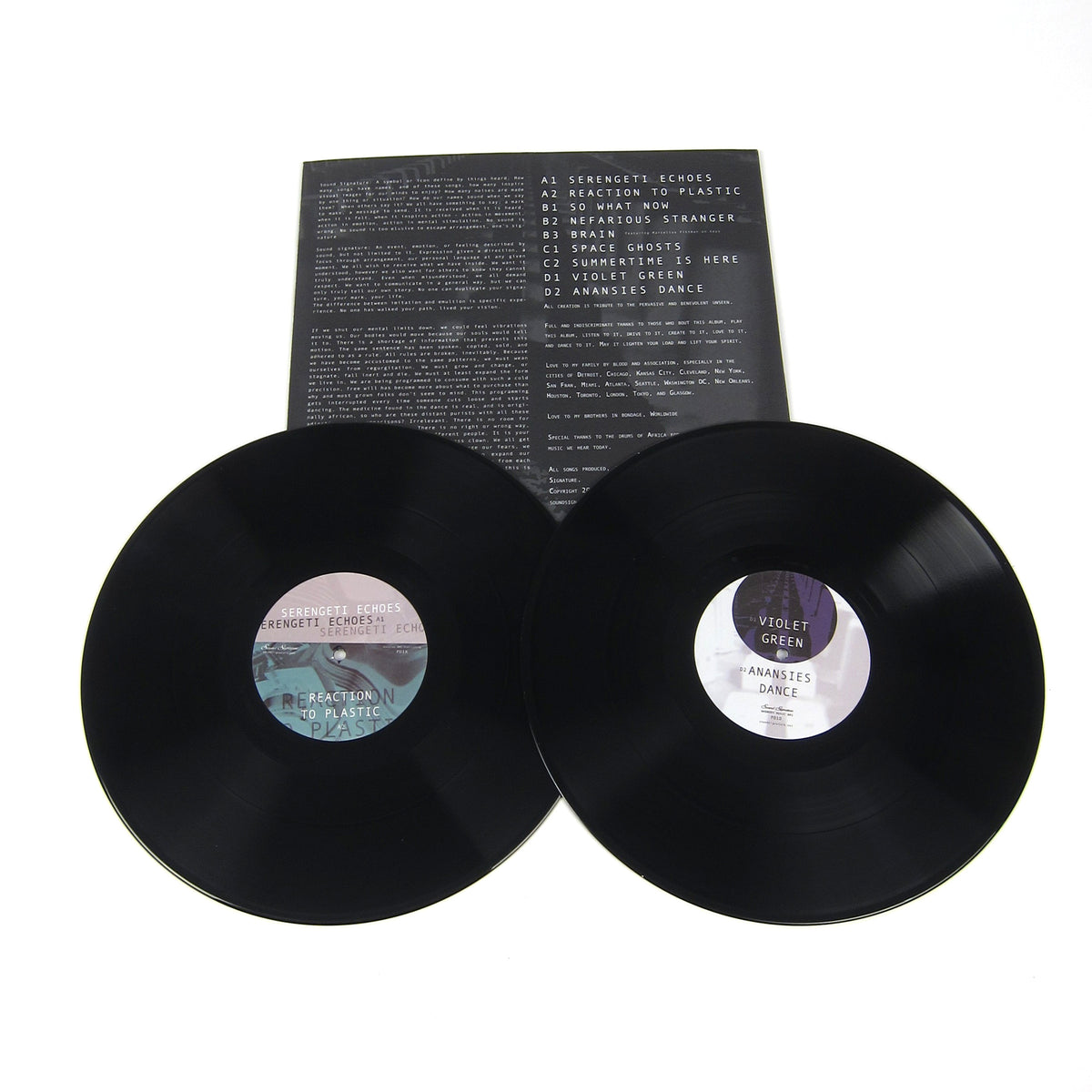 Theo Parrish: Parallel Dimensions Vinyl 2LP