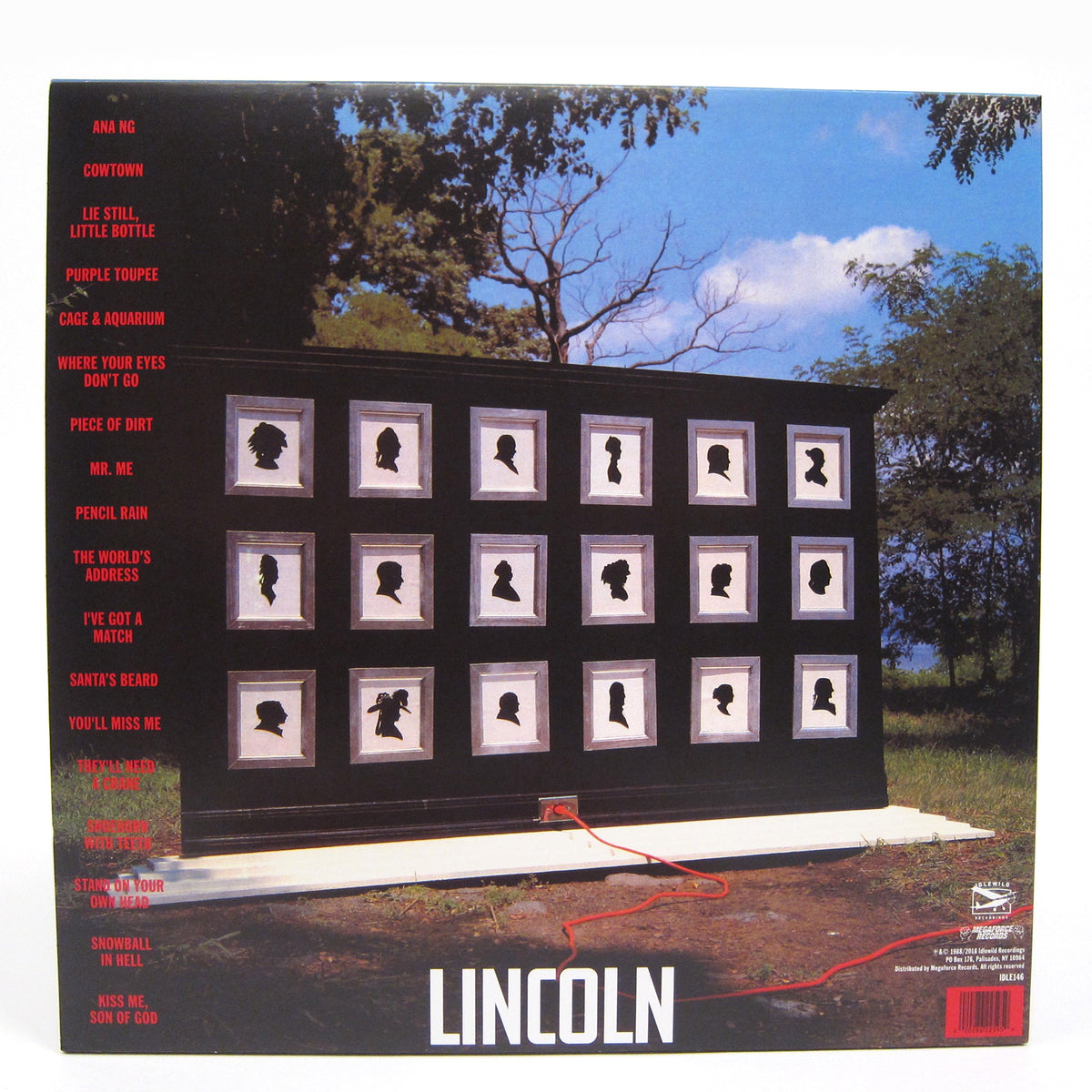 They Might Be Giants: Lincoln (180g, Indie Exclusive Colored Vinyl) Vinyl LP
